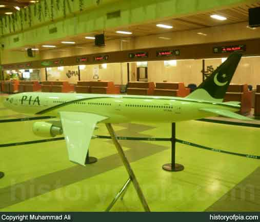 PIA Boeing 777 Model