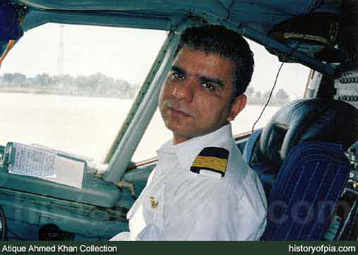 First Officer Talpur