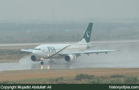 PIA Airbus A310-300