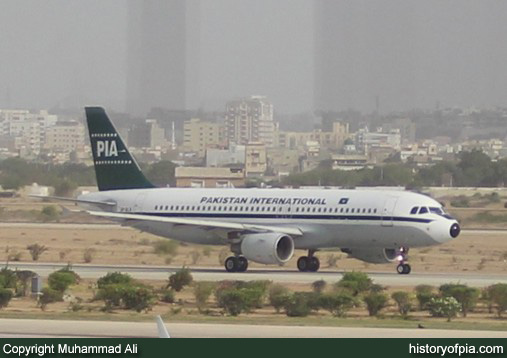 PIA Airbus A320-214