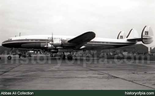 PIA Lockheed L-1049C Super Constellation