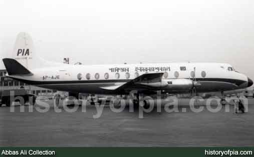 PIA Vickers Viscount 815