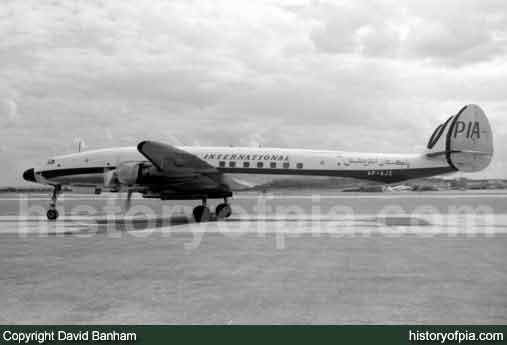 PIA Lockheed L-1049H Super Constellation