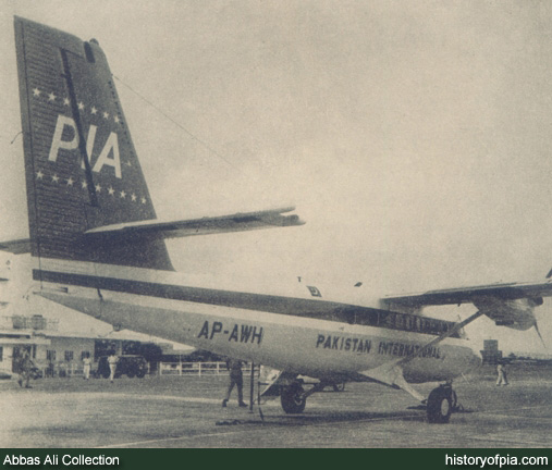 PIA de Havilland Canada DHC-6 Twin Otter 300