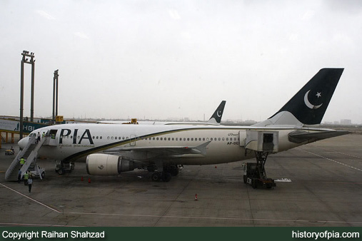 PIA Airbus A310-308