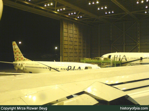 PIA Boeing 737-33A