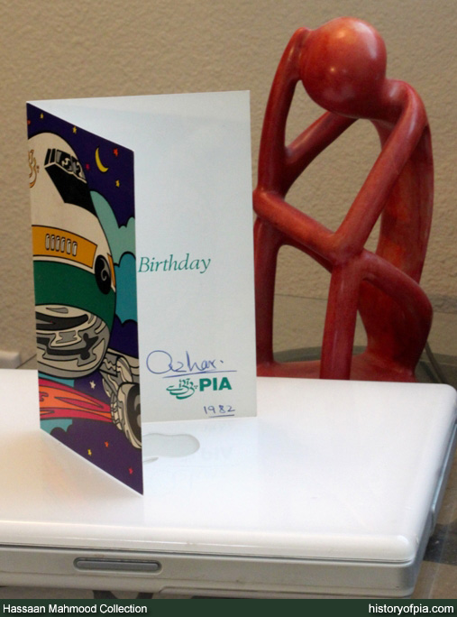 PIA Birthday Greeting Card