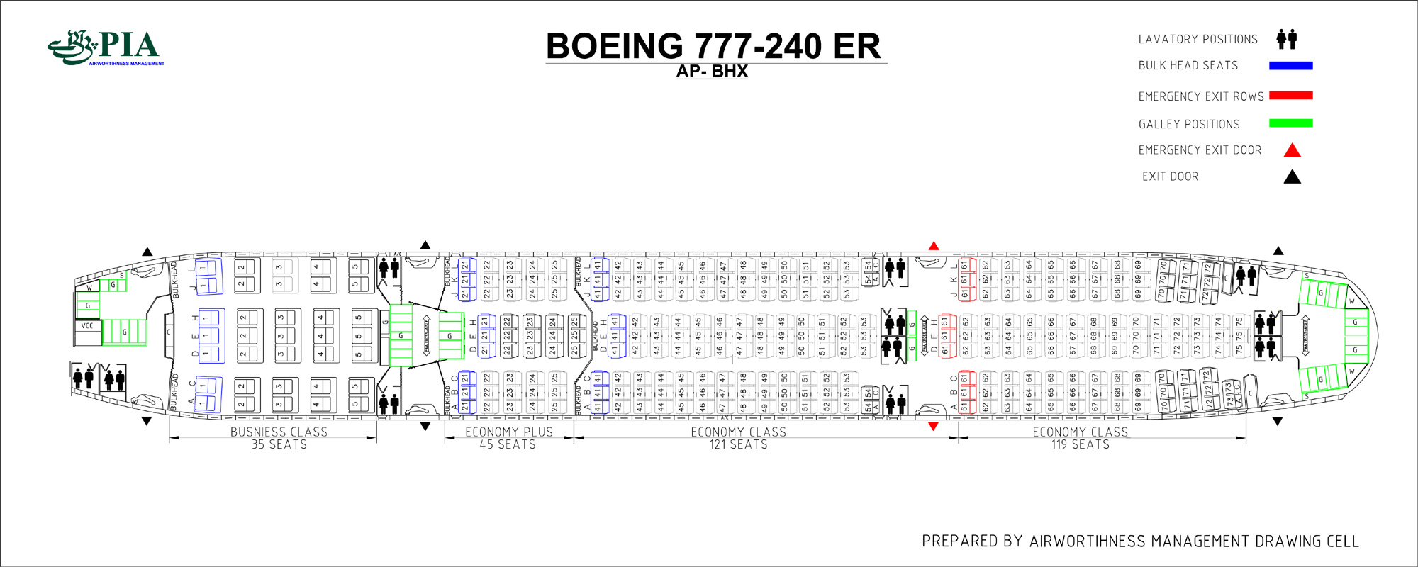 Cathay Pacific 77w Aircraft Seating Plan Femous Aircraft