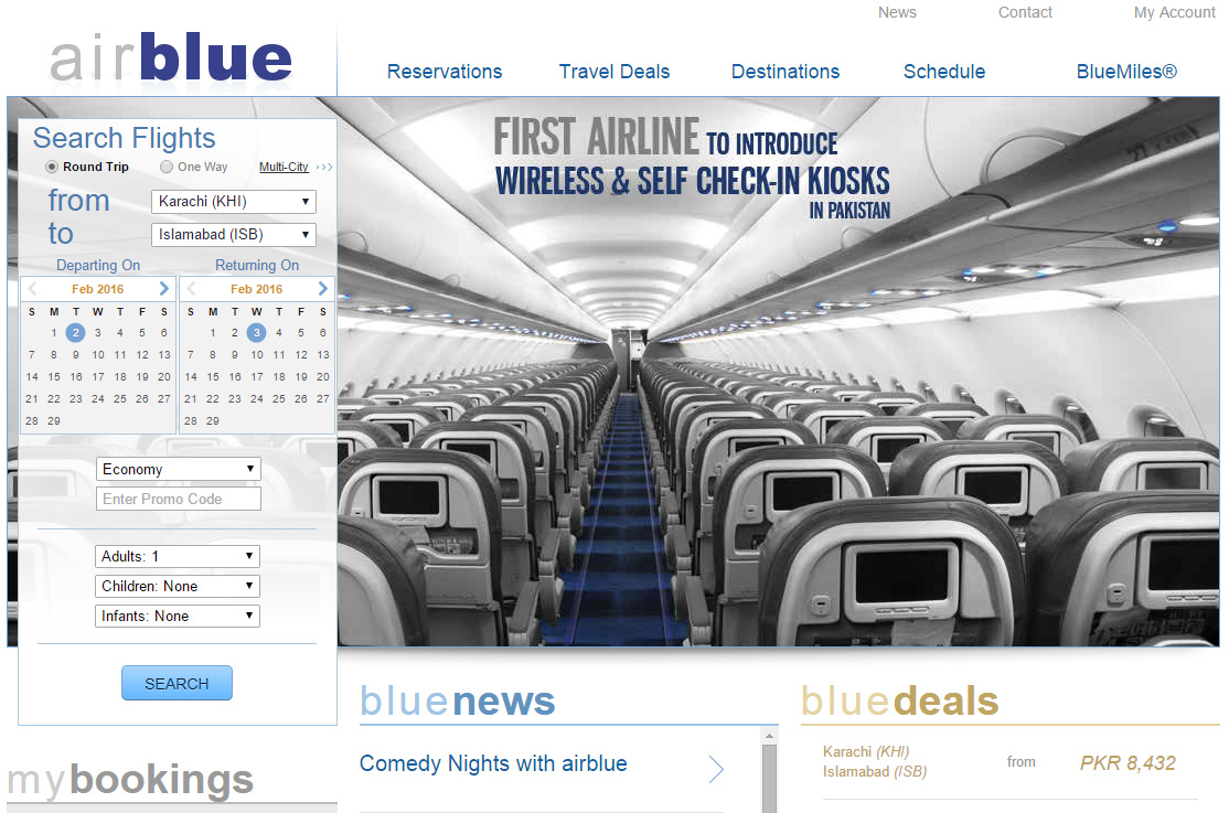 I Found This Photo On Airblue Website