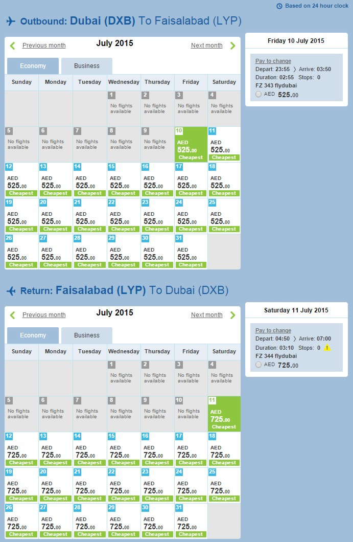 faisalabad to karachi flights pia price