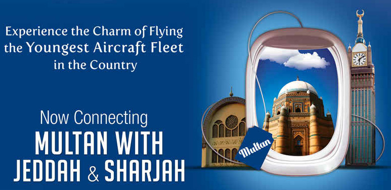 Airblue On Its Website Promoting Flights Between Multan And Jeddah