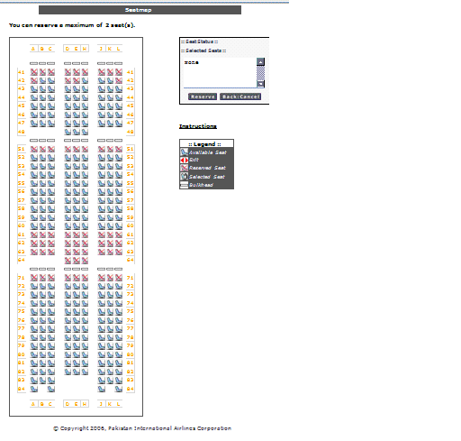 Seatmap for PIA 772ER - Page 2 - History of PIA - Forum