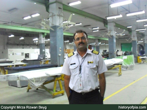 Aircraft Engineer Farooq Memon