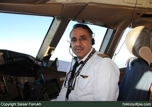 First Officer Farrukh Qureshi