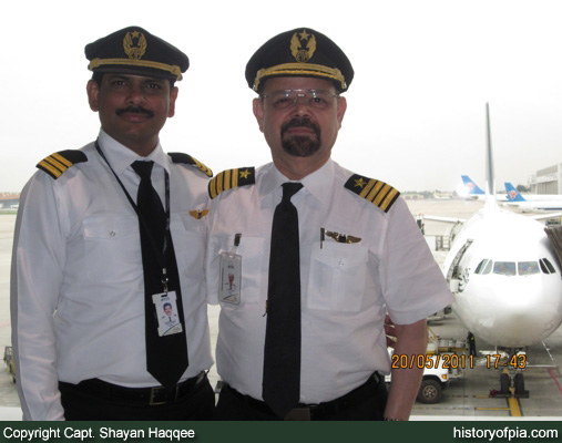 First Officer Kaleem