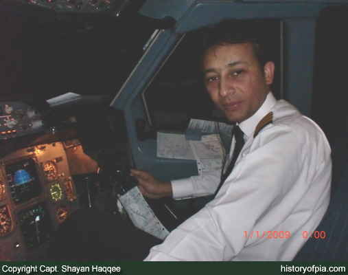 First Officer Tariq Bashir Alam