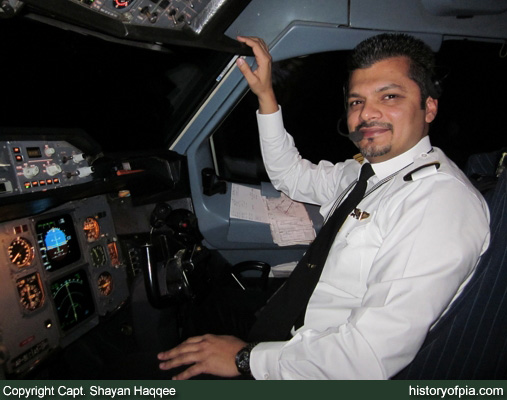 First Officer Usman Chaudhry