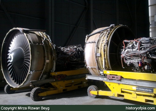 General Electric CF6-80C2A7 Turbofan Engine