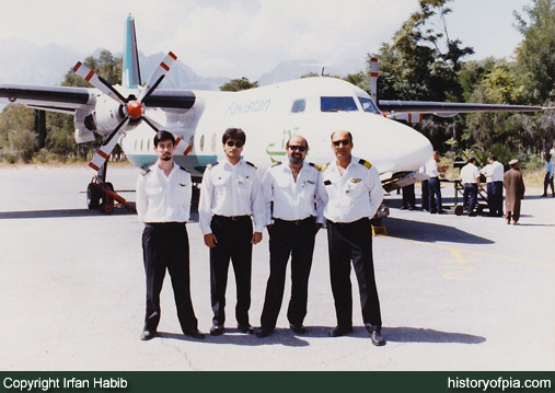 First Officer Irfan Habib