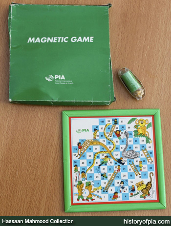 Magnetic Snakes and Ladders Board Game