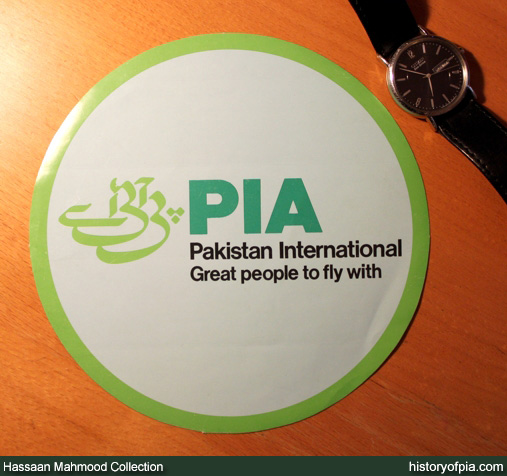 PIA Sticker