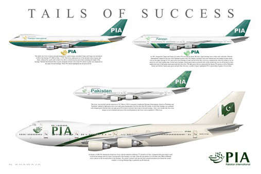 PIA Boeing 747-240B (SCD) Poster