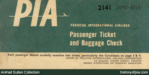 Pakistan International Airlines (PIA) Online Booking