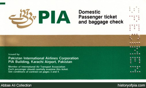 Pakistan International Airlines (PIA) Tickets Online Booking