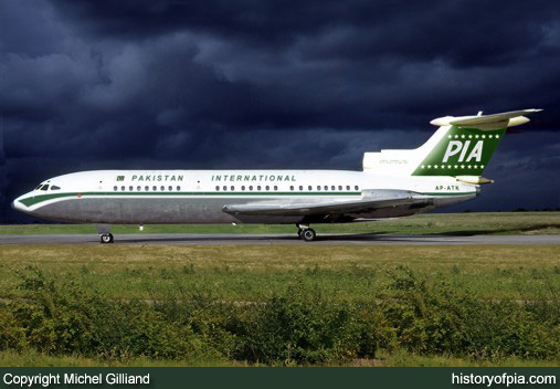 PIA Hawker Siddeley HS.121 Trident 1E