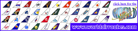 Click here to visit World Air Routes